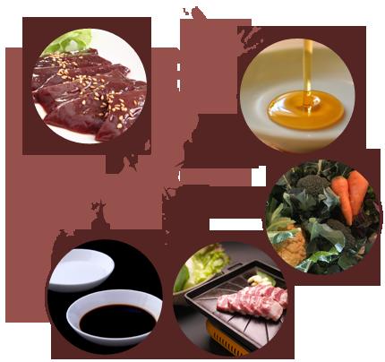 日本の豊かな食材を